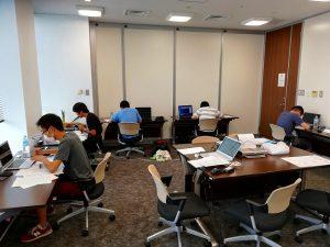 日本チームの実験試験